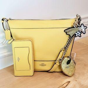 NWT Coach Bag, Wallet & 2 Accessories